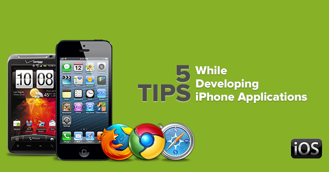 Consider the things in iPhone app development